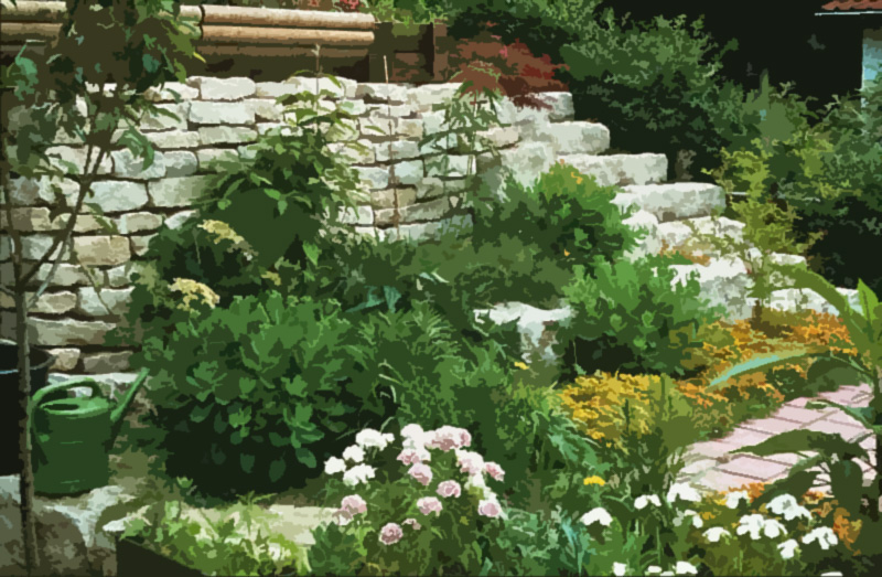 Landschaftsbau landschaftsbau gartenbau sybille jakober jakober for Steine im garten